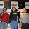 Winners Podium (1st - Michael, 2nd - Eric, 3rd - Nigel)