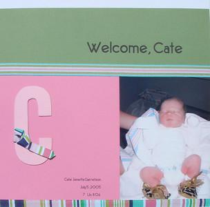 Album - Cate's Baby Book