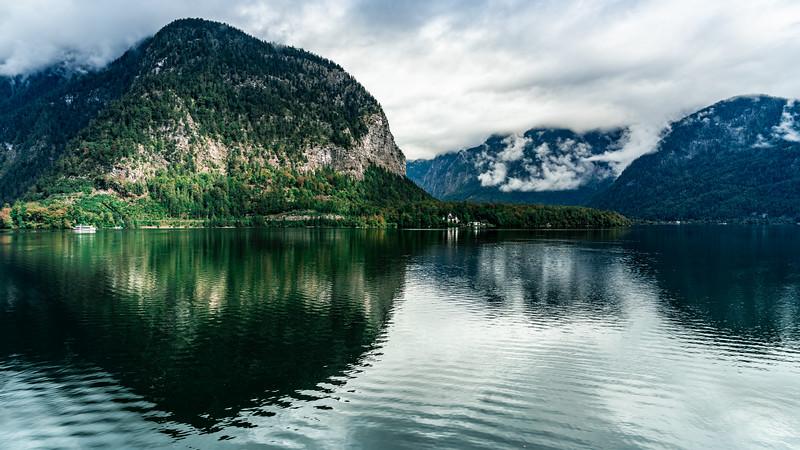 Lake Hallstatt Mountains