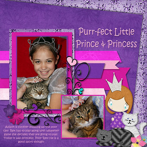 Purr-fect Princess- Scraps of Ellay