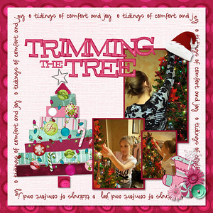 Sugar Plum Fairy- MLAS Collab Crazy Christmas- MLAS Collab Good Tidings- Jusme Digital Joy- Just So Scrappy Joyous Christmas- Kellybell Designs