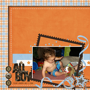 Brothers- Just So Scrappy April Showers(stitches only)-Just So Scrappy Indy (Alpha)- DigiDesigns by Nicole