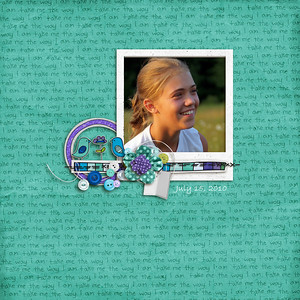 The Way I Am Quickpage-by  Lauren Grier
