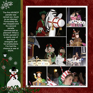 Scrapped using A Very Mickey Christmas kit-by Kellybell