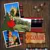 A little taste of Canada Kit- collab Brittish Designs/Sahlin Studios<br /> Dirt Splat: Animal Kingdom by Brittish Designs<br /> Overlay- freebie Creative Memories<br /> Template by Californiateri