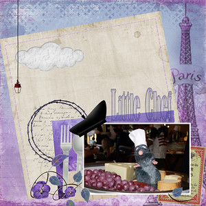 Eiffel tower freebie- Creative memories taste of France and Italy--collab by britt-ish Designs and Sahlin Studio Espirit de la vie- by Studio Vivarant Not So Basic Neutrals paper pack- by Jennifer Barrette Yum-O- by Kellybell By the Sea Alpha-Just So Scrappy