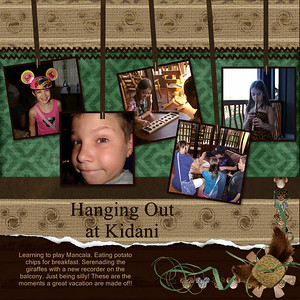 Template-pixels2pages Gettin' Wild- Natalie's Place Designs