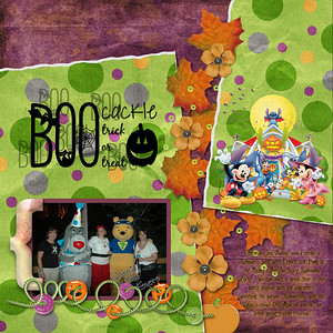 Sweet Halloween Designer Collab MLAS Mickey Halloween Clip Art extracted by me from a free computer wallpaper