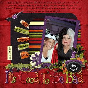 Trick or Treat Collab- Rainamoon Scraps and Scraps by Ellay Template by Roxana Designs