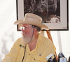 "Clyde Butcher, ""The Ansel Adams of the Everglades"", at his gallery's display"