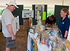 Brian looks at the gift baskets on offer Florida National Park Association