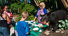 Cathy worked the Florida Fish and Wildlife Commission display along with a juvenile black bear