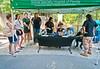 Florida Panther Festival sponsor Animal Specialty Hospital of Florida was well staffed