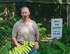 Mark Lotz of the Florida Fish and Wildlife Commssion introduced Uno the Naples Zoo resident Florida Panther
