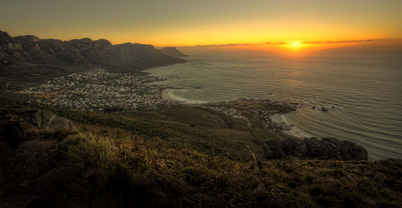 Sunset at Lion's Head