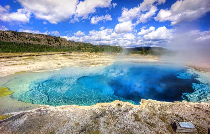 Yellowstone's Sapphire Pool
