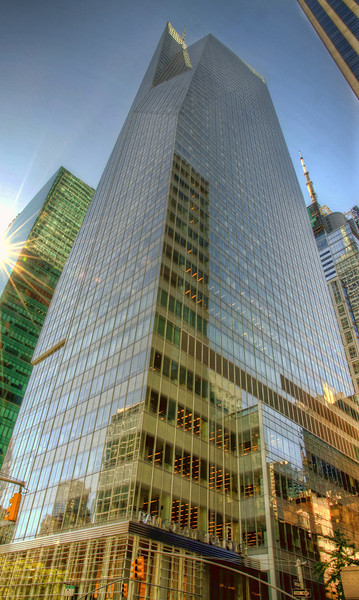 The Bank of America Tower in NYC