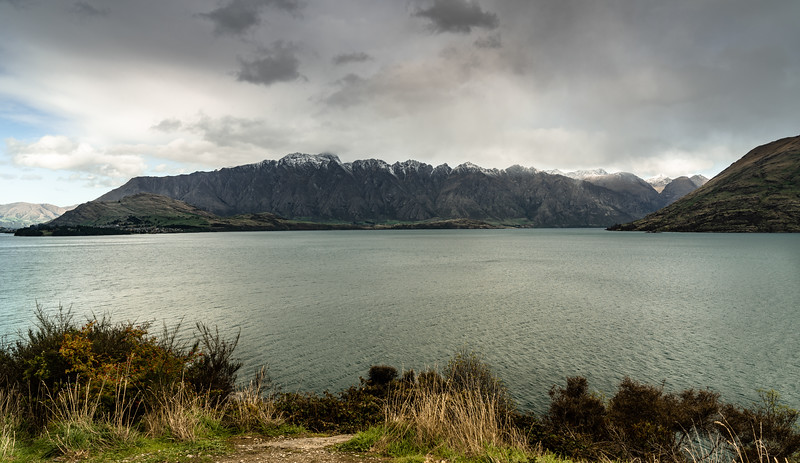 Moody autumn day in Queenstown
