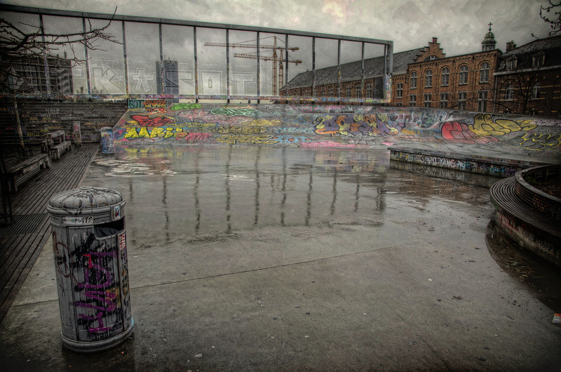 Skatepark in Brussels