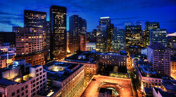 A suite with a great view on San Francisco