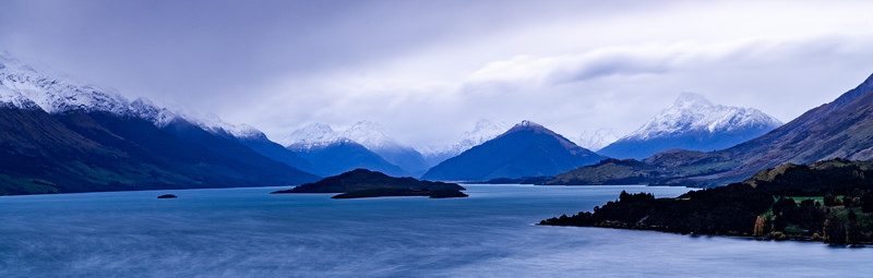 Dark clouds rising over Glenorchy