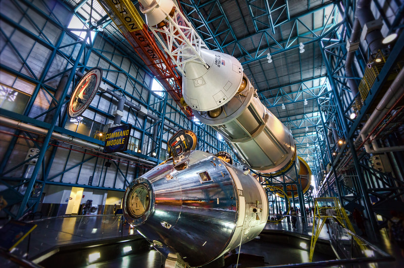 The mighty Saturn V rocket