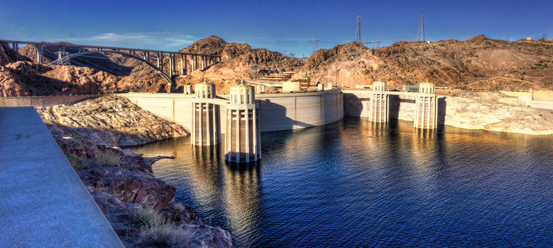 The mighty Hoover Dam