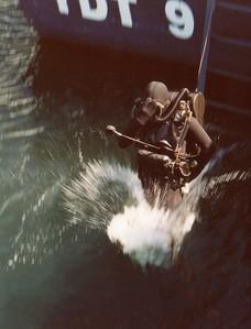 CCDA Diver Entering Water