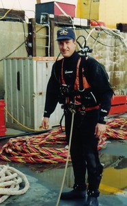 Webmaster in CABA with Dry Suit as Standby Diver