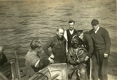 Shipwright's ClassChippy Galloway in the suit.