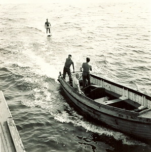 1953Aqua-planing at Lawlor's Island in Halifax Harbour