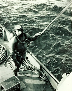 Tracker Recovery off Sheet Harbour in 1971John Dohan