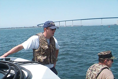 Operating Sonar Syatems in San Diego Harbor