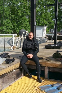 Pre-Dive at Carderock, MD