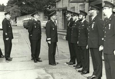 Admirals Inspection FDU(P) Spring 1982