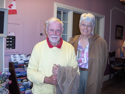 Allan Sagar and Mrs. at Ottawa Reunion 2006
