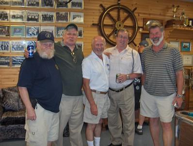 Jolly Get TogetherL-R Ken Whitney, Terry Havlik, , Wayne Catchpaw, Tony Dubois & Chuck Wilson
