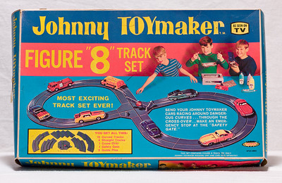 "Johnny Toymaker Figure ""8"" Track Set  At Robillard."