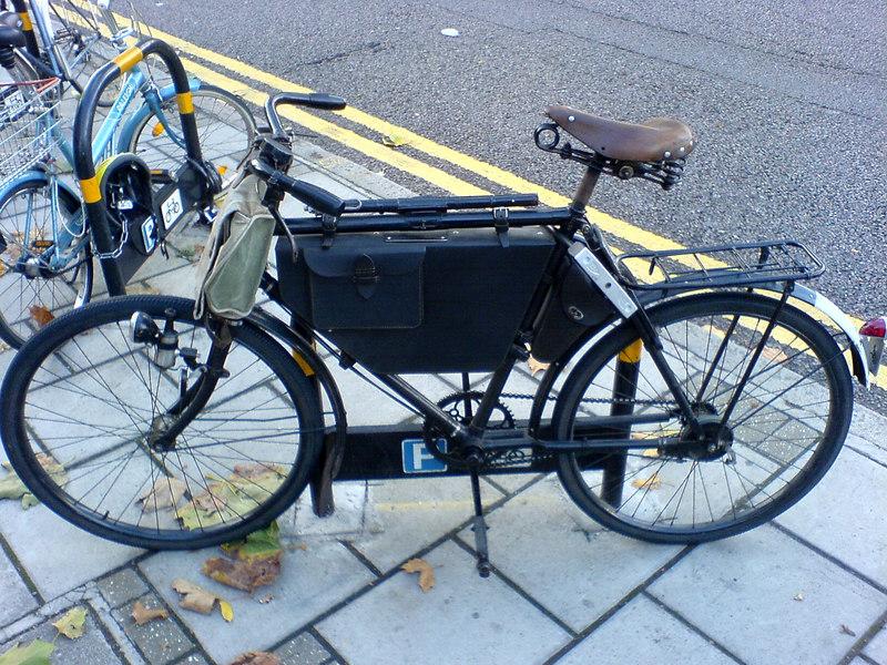 A Certain Grandeur - Bike at Morley - 001
