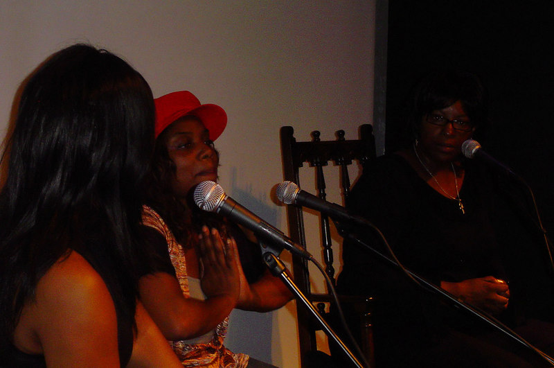 Sharon Foster interviewed by DJ Elayne Smith and Angela Reid followed by an open audience Q & A session