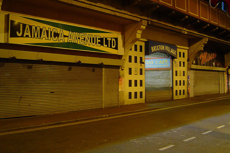 Atlantic Avenue, Brixton, South London - 001