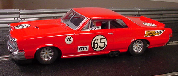 Scratchbuilt, Kitbashed, and Repainted 1/32 Scale Slot Cars