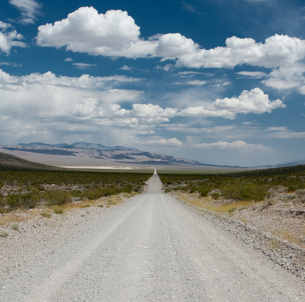 Death Valley Road near the North end.  Close to Crankshaft Corner.