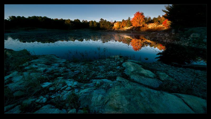 Mink Lake, Sunrise