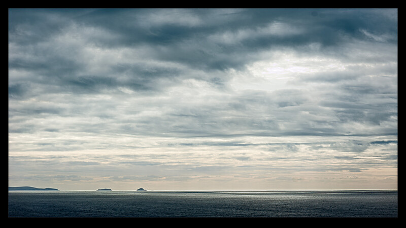 Scariff and Deenish Islands From Skellig Michael