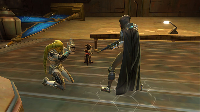 Naya seems to like playing executioner . . .