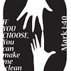 Mark 1:40 Hands