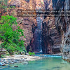 """Virgin River in Zion Canyon"""