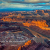 """Sunrise from Dead Horse Point"""