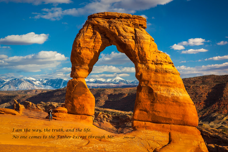 """""""Photographer at Delicate Arch"""""""